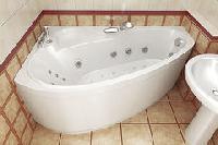 Тритон - Triton ванна Пеарл-шелл 1600х1040 левая
