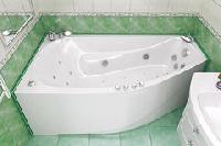 Тритон - Triton ванна Скарлет 1670х960 левая