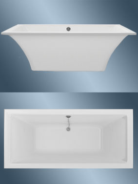 Ванна Astra-Form Лотус 1850х850